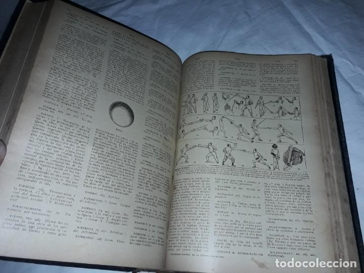 Diccionarios antiguos: Antiguo Diccionario General Lengua Castellana Antonio San de Velilla año 1906 - Foto 11 - 207729357