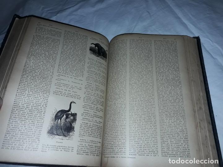 Diccionarios antiguos: Antiguo Diccionario General Lengua Castellana Antonio San de Velilla año 1906 - Foto 12 - 207729357