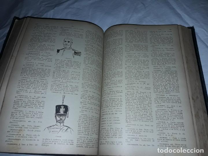 Diccionarios antiguos: Antiguo Diccionario General Lengua Castellana Antonio San de Velilla año 1906 - Foto 13 - 207729357