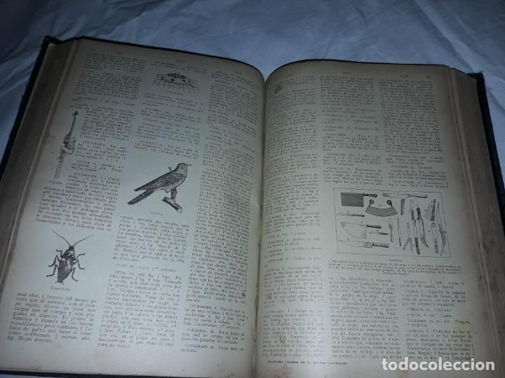 Diccionarios antiguos: Antiguo Diccionario General Lengua Castellana Antonio San de Velilla año 1906 - Foto 14 - 207729357