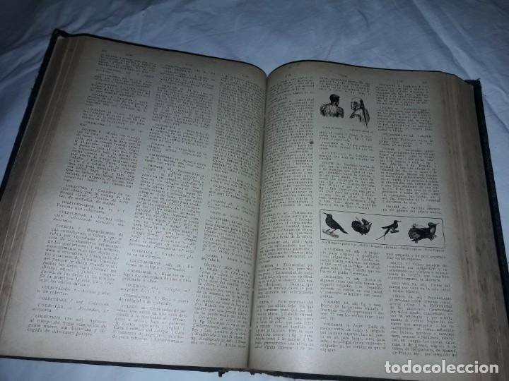 Diccionarios antiguos: Antiguo Diccionario General Lengua Castellana Antonio San de Velilla año 1906 - Foto 15 - 207729357