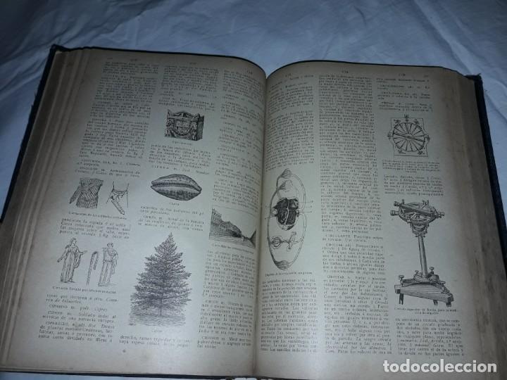 Diccionarios antiguos: Antiguo Diccionario General Lengua Castellana Antonio San de Velilla año 1906 - Foto 16 - 207729357