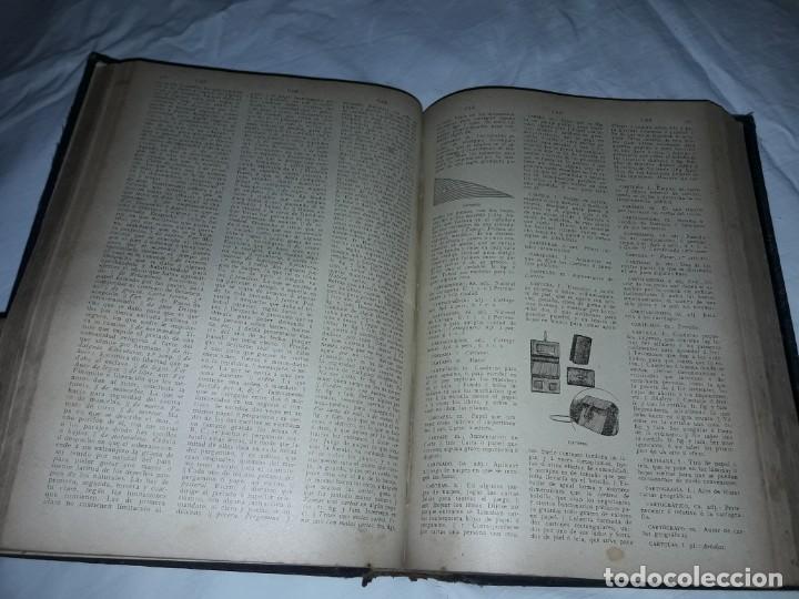 Diccionarios antiguos: Antiguo Diccionario General Lengua Castellana Antonio San de Velilla año 1906 - Foto 17 - 207729357