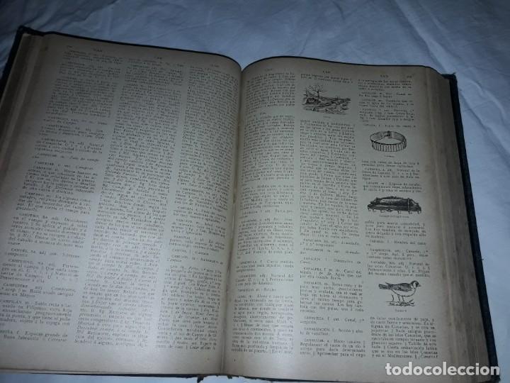 Diccionarios antiguos: Antiguo Diccionario General Lengua Castellana Antonio San de Velilla año 1906 - Foto 18 - 207729357