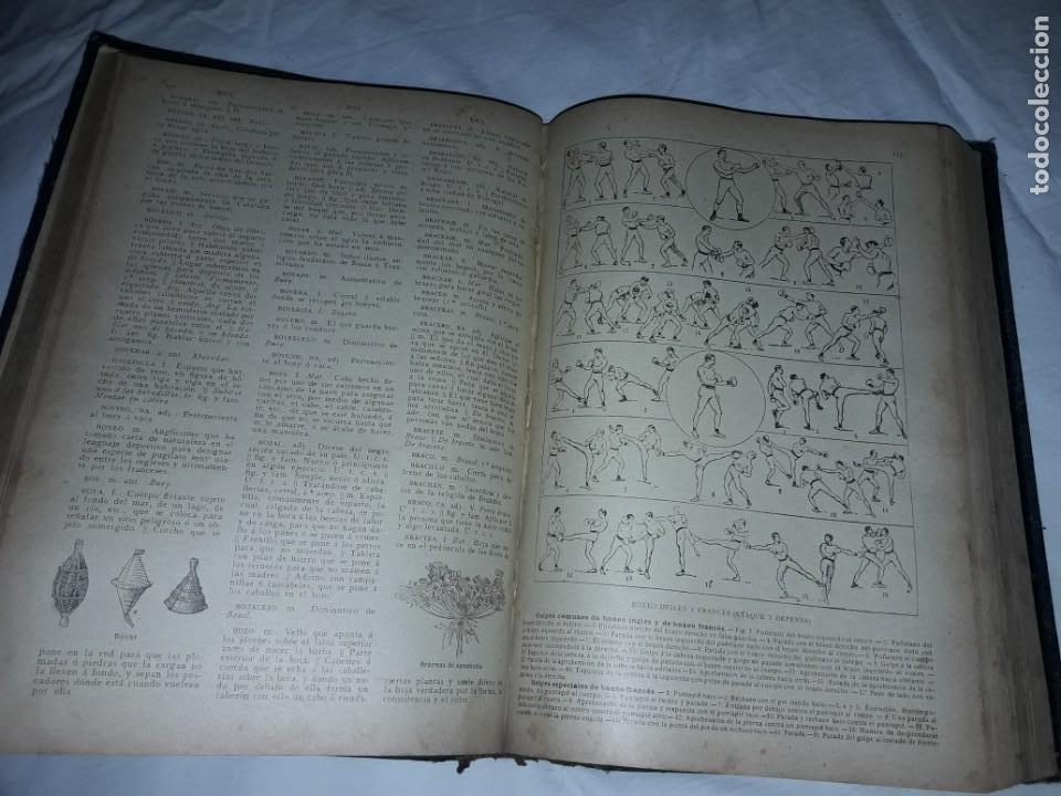 Diccionarios antiguos: Antiguo Diccionario General Lengua Castellana Antonio San de Velilla año 1906 - Foto 19 - 207729357