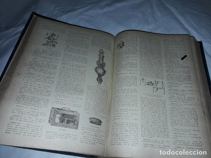 Diccionarios antiguos: Antiguo Diccionario General Lengua Castellana Antonio San de Velilla año 1906 - Foto 20 - 207729357