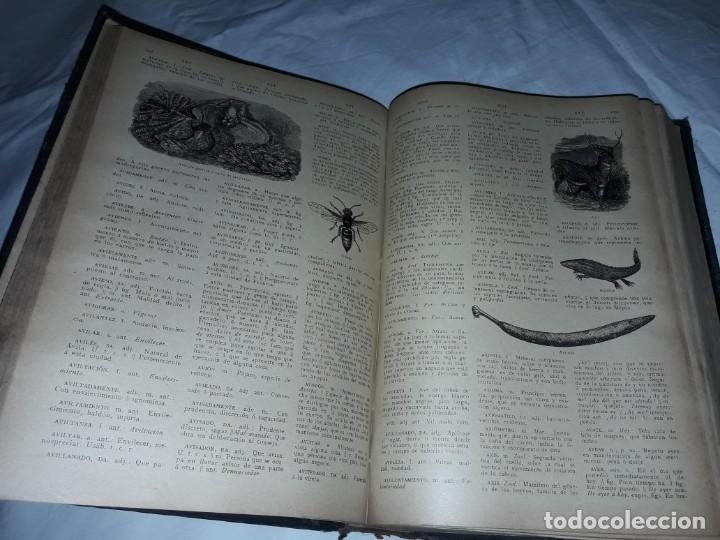 Diccionarios antiguos: Antiguo Diccionario General Lengua Castellana Antonio San de Velilla año 1906 - Foto 21 - 207729357