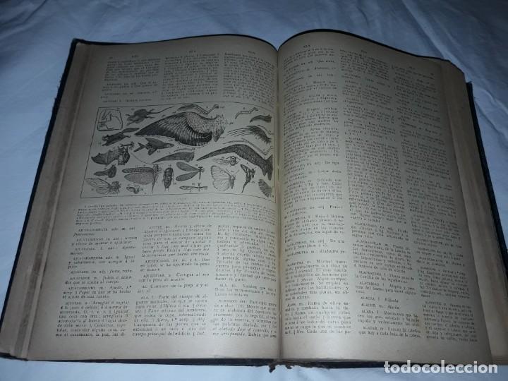 Diccionarios antiguos: Antiguo Diccionario General Lengua Castellana Antonio San de Velilla año 1906 - Foto 25 - 207729357
