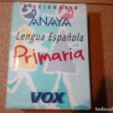 Livros antigos: DICCIONARIO ANAYA DE AL LENGUA ESPAÑOLA DE PRIMARIA. Lote 207855878