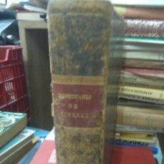 Diccionarios antiguos: DICCIONARIUM MANUALE LATINO-HISPANUM. 1827. L.9309-464. Lote 207924157