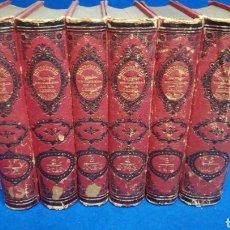 Libri antichi: DICCIONARIO POPULAR UNIVERSAL DE LA LENGUA ESPAÑOLA, D. LUIS P. DE RAMÓN, 6 TOMOS, 1885. Lote 207936641