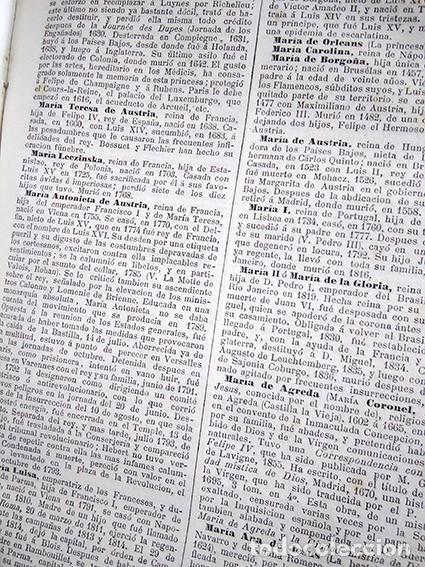 Diccionarios antiguos: Diccionario enciclopédico de historia, biografía, mitología y geografía – Luis Grégoire. 1879 - Foto 5 - 208148313