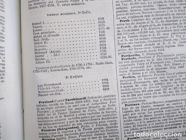 Diccionarios antiguos: Diccionario enciclopédico de historia, biografía, mitología y geografía – Luis Grégoire. 1879 - Foto 6 - 208148313