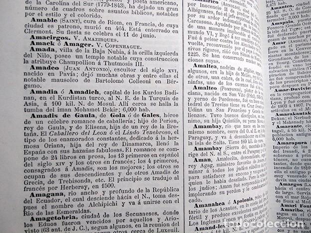 Diccionarios antiguos: Diccionario enciclopédico de historia, biografía, mitología y geografía – Luis Grégoire. 1879 - Foto 7 - 208148313