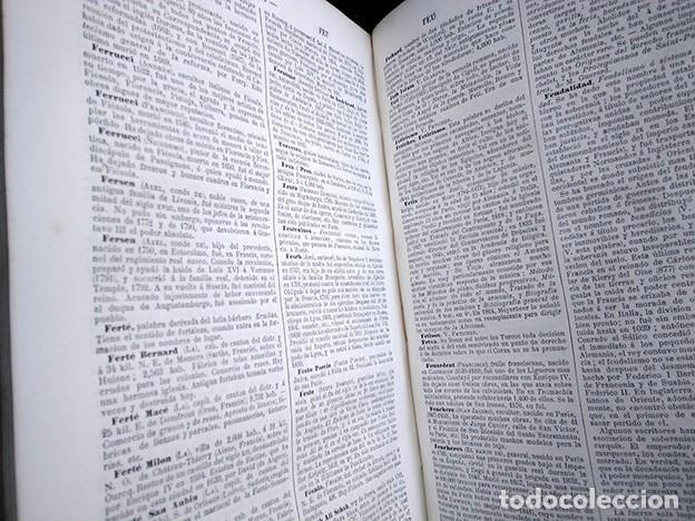 Diccionarios antiguos: Diccionario enciclopédico de historia, biografía, mitología y geografía – Luis Grégoire. 1879 - Foto 12 - 208148313