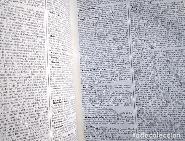 Diccionarios antiguos: Diccionario enciclopédico de historia, biografía, mitología y geografía – Luis Grégoire. 1879 - Foto 16 - 208148313