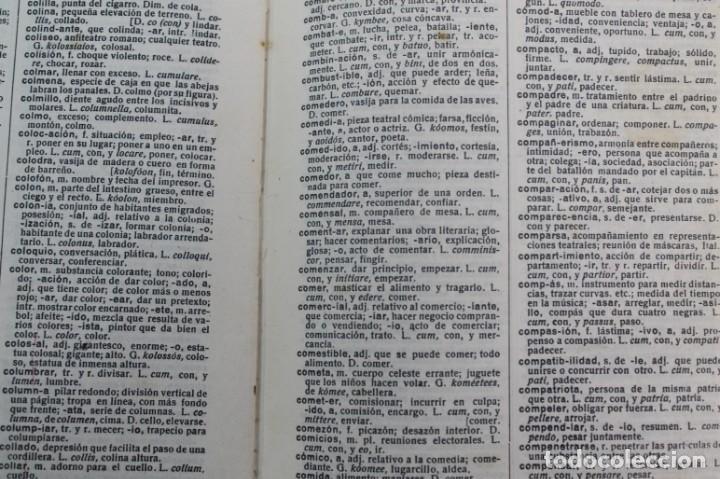 Diccionarios antiguos: DICCIONARIO ESPAÑOL ESCOLAR ETIMOLOGICO. - Foto 4 - 208168296