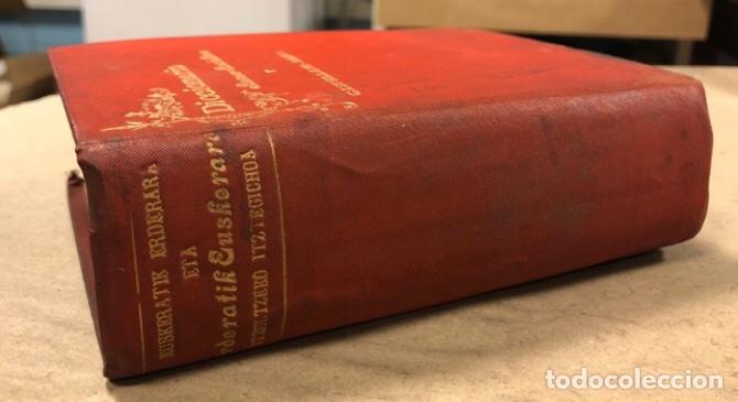 Diccionarios antiguos: DICCIONARIO BASCO - CASTELLANO Y CASTELLANO - BASCO. PEDRO NOVIA DE SALCEDO. 1902 (TOLOSA). - Foto 2 - 208176241