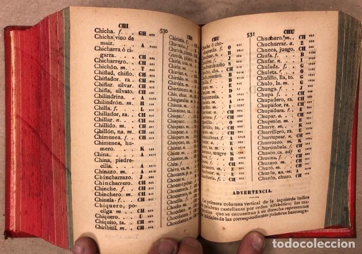 Diccionarios antiguos: DICCIONARIO BASCO - CASTELLANO Y CASTELLANO - BASCO. PEDRO NOVIA DE SALCEDO. 1902 (TOLOSA). - Foto 7 - 208176241