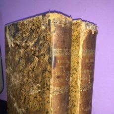 Libri antichi: LOTE 2 DICCIONARIOS 1865 VALBUENA ESPAÑOL-LATIN, LATIN-ESPAÑOL. Lote 208662868