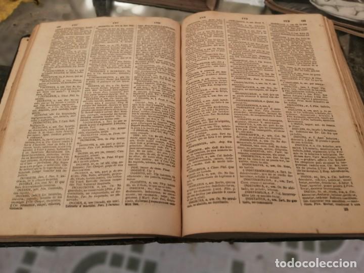 Diccionarios antiguos: Valbuena Reformado. Diccionario Latino-Español. Edición de 1872 - Foto 4 - 208971071