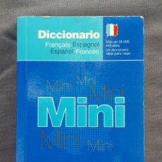 Diccionarios antiguos: DICCIONARIO MINI: FRANÇAIS - ESPAGNOL, ESPAÑOL - FRANCÉS. Lote 209167345