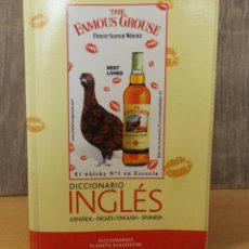 "Diccionarios antiguos: DICCIONARIO INGLES- ESPAÑOL "" THE FAMOUS GROUSE"". Lote 209574495"