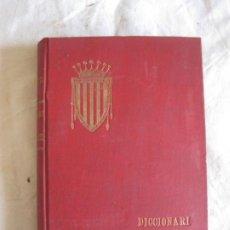 Diccionarios antiguos: DICCIONARI DE BARBARISMES INTRODUHITS EN LA LLENGUA CATALANA. ANTONI CARETA. IMP. OLIVA DE VILANOVA. Lote 209596256