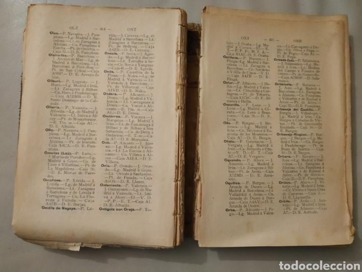 Diccionarios antiguos: Diccionario geográfico postal de España 1901-1905. Laviña - Foto 8 - 209966936