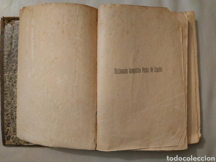 Diccionarios antiguos: Diccionario geográfico postal de España 1901-1905. Laviña - Foto 6 - 209966936