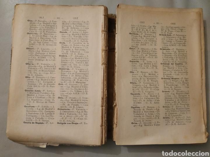 Diccionarios antiguos: Diccionario geográfico postal de España 1901-1905. Laviña - Foto 4 - 209966936