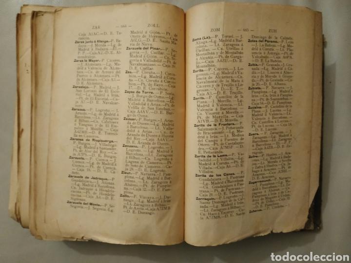 Diccionarios antiguos: Diccionario geográfico postal de España 1901-1905. Laviña - Foto 7 - 209966936