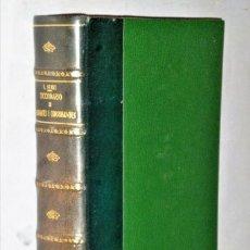 Diccionarios antiguos: DICCIONARIO DE CONSONANTES I ASONANTES. Lote 210070631