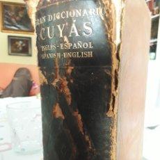Diccionarios antiguos: GRAN DICCIONARIO CUYAS. Lote 211477385