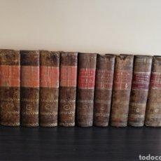 Diccionarios antiguos: 1831 - DICCIONARIO GEOGRÁFICO UNIVERSAL - 10 TOMOS - IMPRENTA JOSÉ TORNER BARCELONA. Lote 212284746