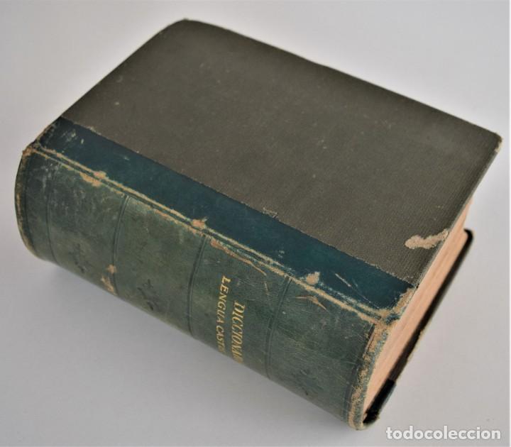 Diccionarios antiguos: NUEVO DICCIONARIO MANUAL, ILUSTRADO, DE LA LENGUA CASTELLANA - SATURNINO CALLEJA 1914 - Foto 3 - 212382680