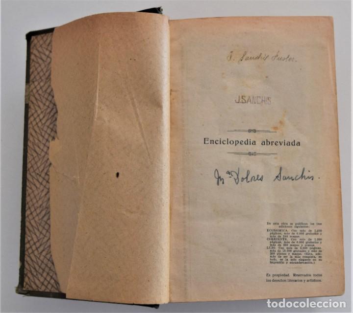 Diccionarios antiguos: NUEVO DICCIONARIO MANUAL, ILUSTRADO, DE LA LENGUA CASTELLANA - SATURNINO CALLEJA 1914 - Foto 4 - 212382680