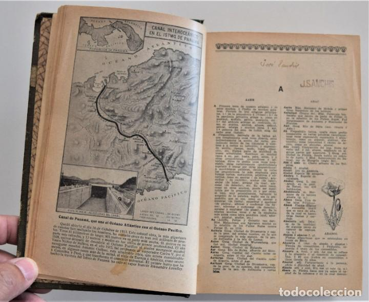 Diccionarios antiguos: NUEVO DICCIONARIO MANUAL, ILUSTRADO, DE LA LENGUA CASTELLANA - SATURNINO CALLEJA 1914 - Foto 6 - 212382680