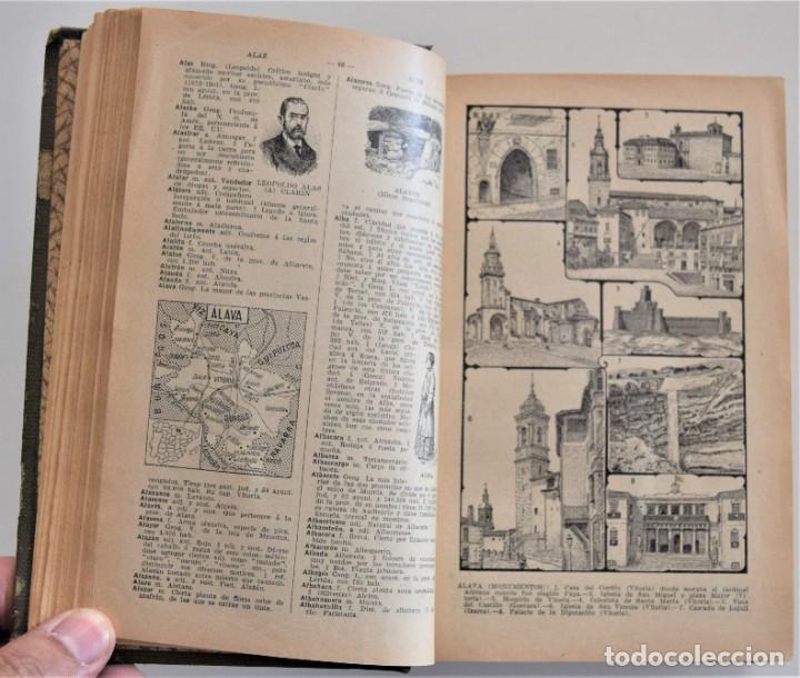 Diccionarios antiguos: NUEVO DICCIONARIO MANUAL, ILUSTRADO, DE LA LENGUA CASTELLANA - SATURNINO CALLEJA 1914 - Foto 7 - 212382680