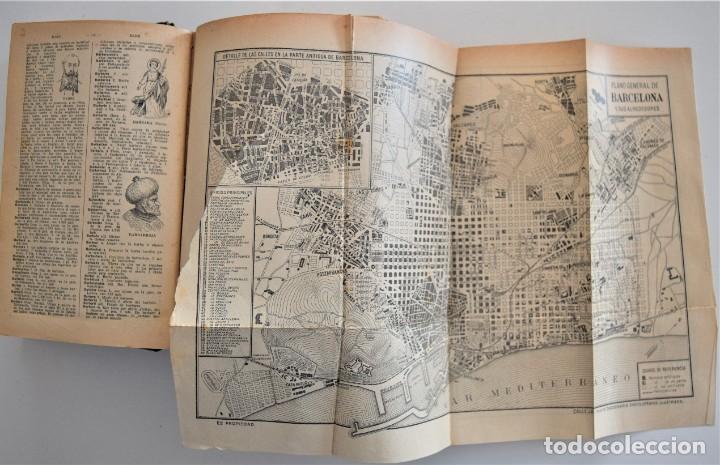 Diccionarios antiguos: NUEVO DICCIONARIO MANUAL, ILUSTRADO, DE LA LENGUA CASTELLANA - SATURNINO CALLEJA 1914 - Foto 8 - 212382680