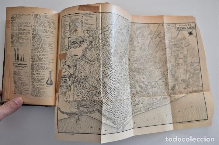 Diccionarios antiguos: NUEVO DICCIONARIO MANUAL, ILUSTRADO, DE LA LENGUA CASTELLANA - SATURNINO CALLEJA 1914 - Foto 9 - 212382680