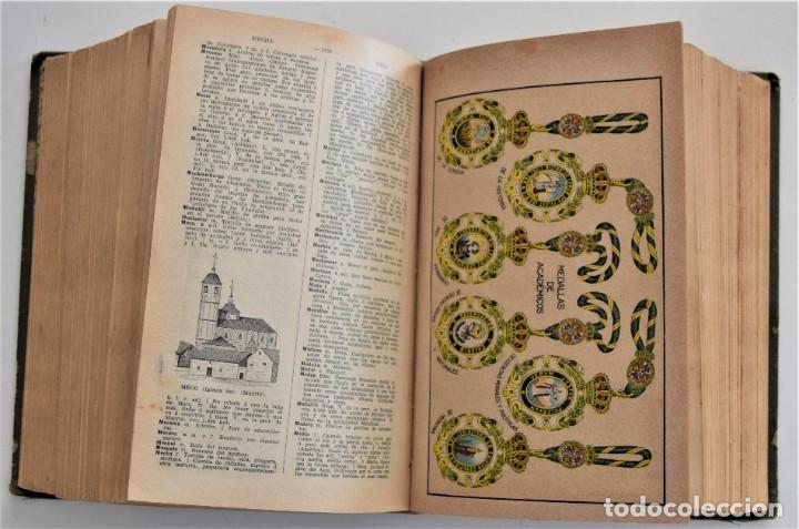 Diccionarios antiguos: NUEVO DICCIONARIO MANUAL, ILUSTRADO, DE LA LENGUA CASTELLANA - SATURNINO CALLEJA 1914 - Foto 14 - 212382680