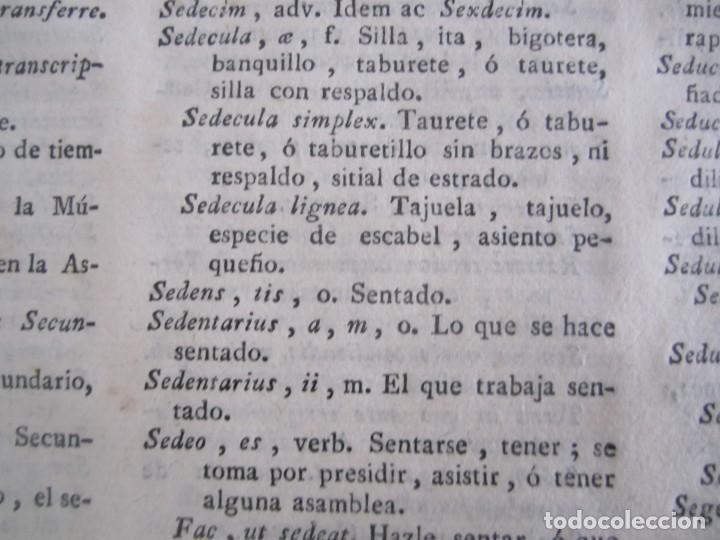 Diccionarios antiguos: LOS TRES ALFABETOS VOCES CIENCIAS Y ARTES ESTEBAN DE TERREROS 1793 MADRID TOMO 4 - Foto 10 - 213072565