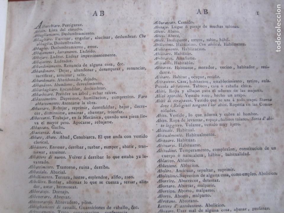 Diccionarios antiguos: LOS TRES ALFABETOS VOCES CIENCIAS Y ARTES ESTEBAN DE TERREROS 1793 MADRID TOMO 4 - Foto 6 - 213072565
