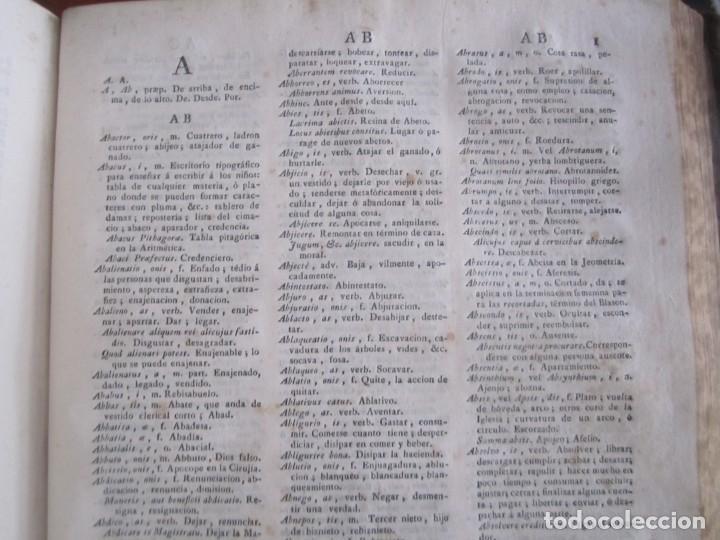 Diccionarios antiguos: LOS TRES ALFABETOS VOCES CIENCIAS Y ARTES ESTEBAN DE TERREROS 1793 MADRID TOMO 4 - Foto 8 - 213072565