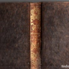 Diccionarios antiguos: SAURA : DICCIONARIO MANUALDE LAS LENGUAS CATALANA CASTELLANA (PUJAL, 1952). Lote 213563501