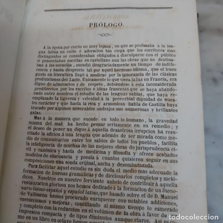 Diccionarios antiguos: Prpm 62 Novísimo diccionario manual Español latino y latino español . 1853 - Foto 3 - 214556820