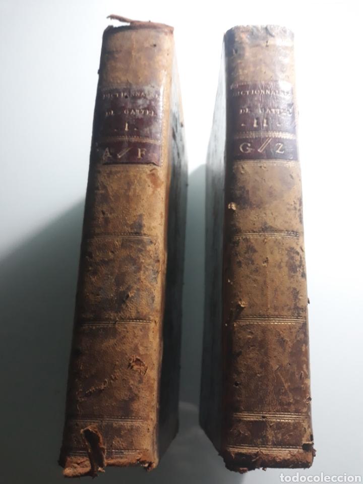 NOUVEAU DICTIONNAIRE ESPAGNOL ET FRANCOIS . 2 TOMOS . 1790 . GATTEL . (Libros Antiguos, Raros y Curiosos - Diccionarios)