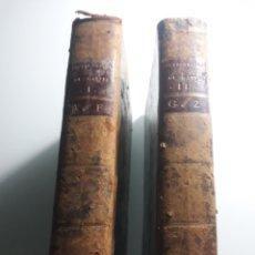 Diccionarios antiguos: NOUVEAU DICTIONNAIRE ESPAGNOL ET FRANCOIS . 2 TOMOS . 1790 . GATTEL .. Lote 215757860