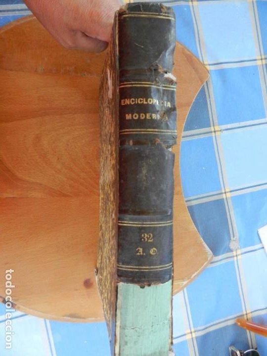 Diccionarios antiguos: ENCICLOPEDIA MODERNA DE LITERATURA , CIENCIAS ARTES - TOMO 32- 1855 FRANCISCO DE P. MELLADO - Foto 4 - 217022788